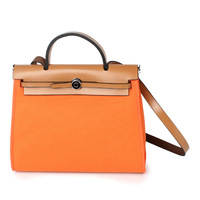 Women Lady Genuine Leather Handbags Waterproof Canvas Patchwork Totes Handbag Flap Shoulder Bag Crossbody Messenger Bags