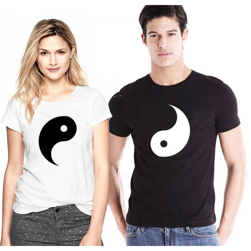 EnjoytheSpirit футболка для пары Yin Yang рубашки отношений подарок нее и его одинаковый