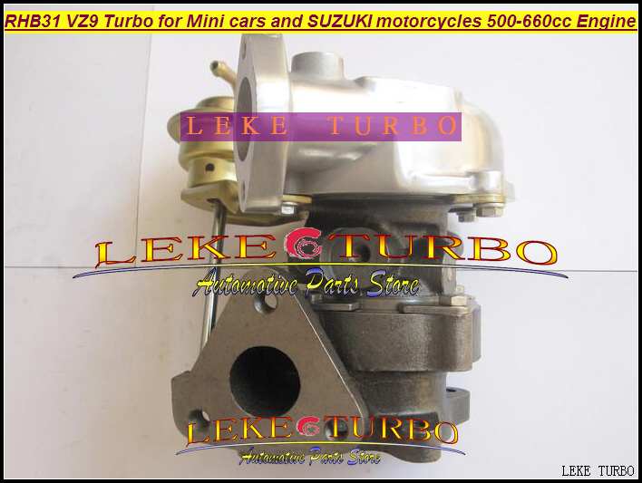 Free Ship RHB31 VZ9 Turbo For SUZUKI Jimny ALTO SWIFT SX4 LIANA Mini car Grand Vitara motorcycles 500-660CC Petrol 70HP-120HP