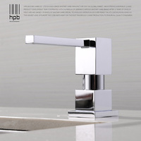HPB Deck Mounted Kitchen Soap Dispensers Chrome Finished Soap Dispensers For Kitchen Built In Countertop Dispenser