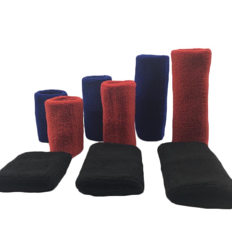1Pcs Wrist Sweatband Tennis Sport Wristband Volleyball Gym Wrist Brace Support Sweat Band Towel Bracelet Protector 8 /11 /15 cm 2