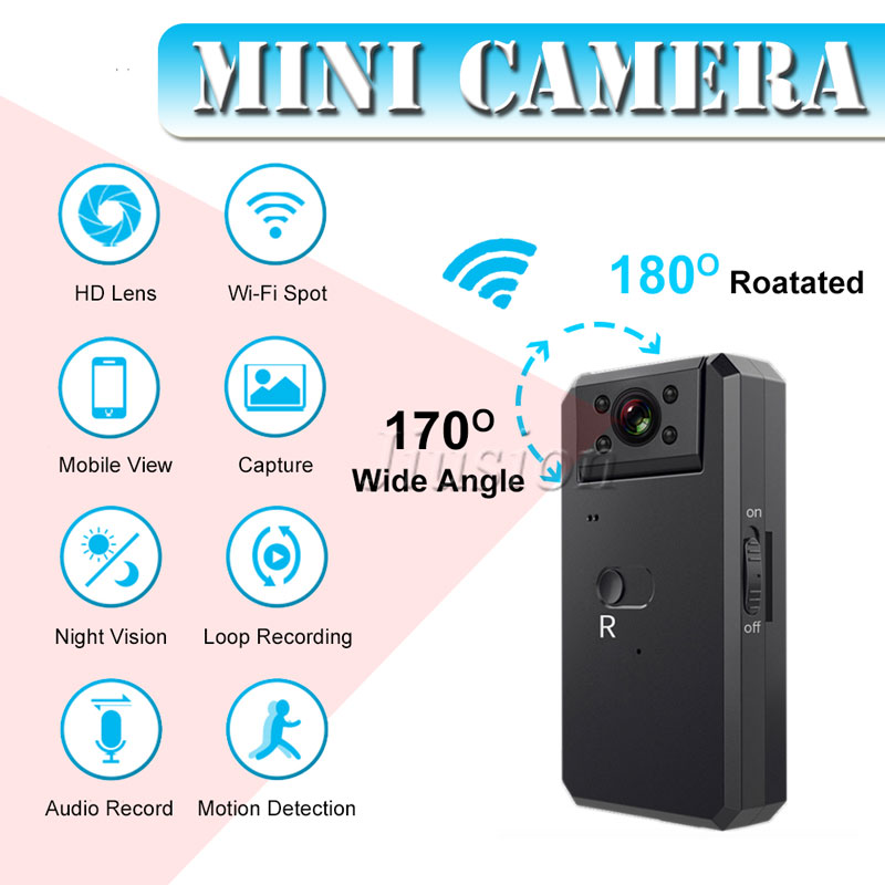 4K Mini WiFi Camera HD 1080P Video Audio Recorder Digital DV DVR Camcorder Outdoor Sport Night Vision Motion Detection Micro Cam4K Mini WiFi Camera HD 1080P Video Audio Recorder Digital DV DVR Camcorder Outdoor Sport Night Vision Motion Detection Micro Cam
