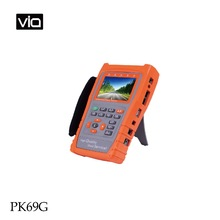 PK69G Free Shipping Professional CCTV & IP Cam Testers AHD Camera Test PTZ Protocal IPC Test Monitoring RS-485 Signals