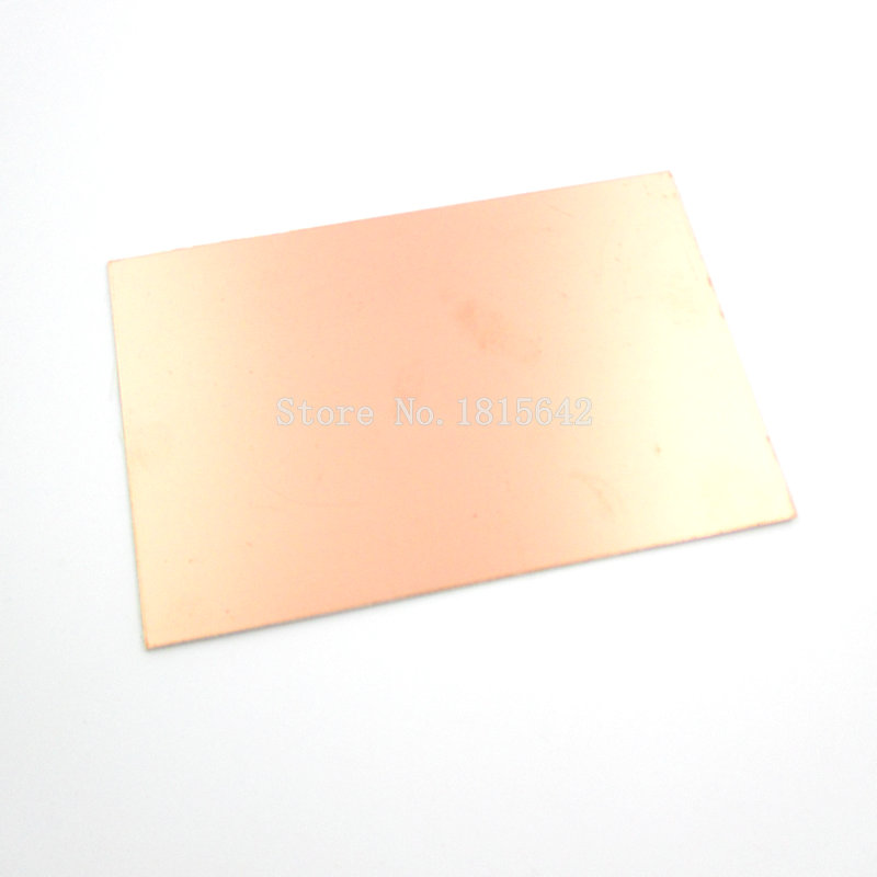 5PCS/Lot Epoxy Fiber FR4 Copper Clad Plate Laminate Circuit Board Double Side PCB 75 X 100 X 1.5mm 10X7.5cm DIY