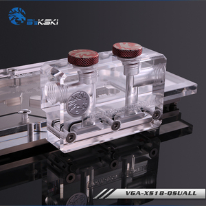 Image 4 - Bykski VGA XS18 QSQUALL, Change Direction L type GPU Block Bridge, Acrylic Bridge, For Bykskis GPU Water Block Refit