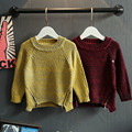 2016 New Winter Baby Boys Girls Sweater Fashion Cotton Kids Clothes Children Sweater Warm For Girls Knitwear