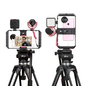 Image 3 - Ulanzi u rig Pro Smartphone zestaw wideo w 3 uchwytach do butów filmowanie Case ręczny telefon stabilizator kamery uchwyt mocowanie do statywu stojak
