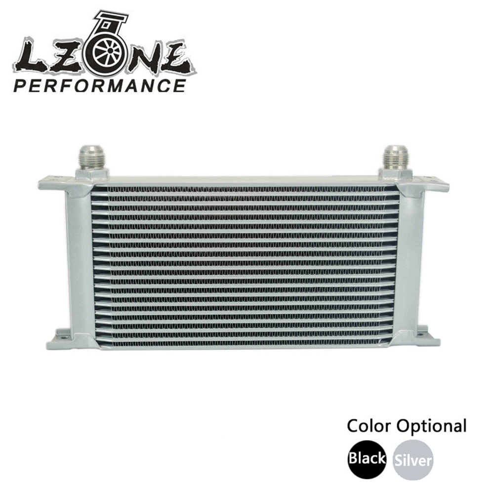 LZONE RACING - 19 ROW AN-10AN UNIVERSAL ENGINE TRANSMISSION OIL COOLER JR7019 vr racing 16 row an 10an universal engine transmission oil cooler vr7016 2