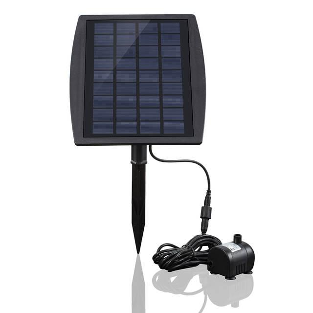 Online Shop Mini Solar Power Panel Landscape Pool Solar Pump Garden