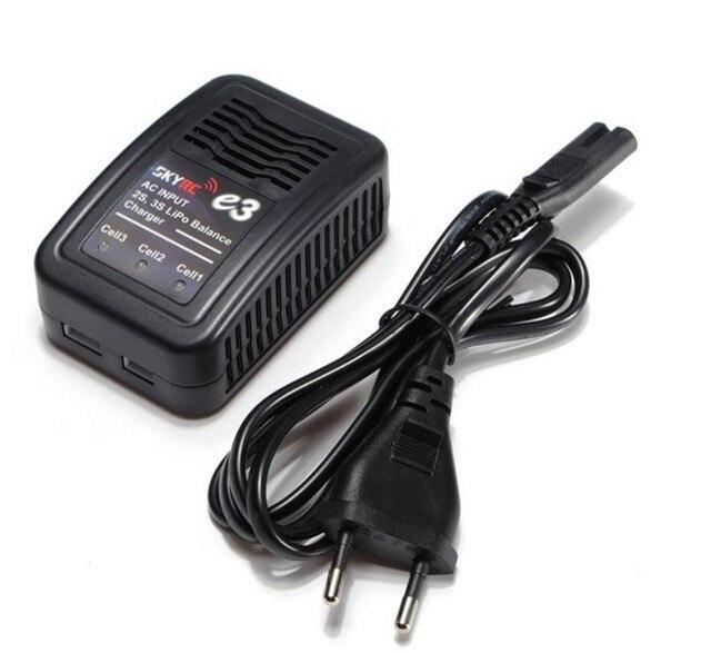 SKYRC E3 SK-100081 ПЕРЕМЕННОГО ТОКА 2 S 3 S Lipo Баланс Зарядное Устройство Аккумулятора для RC Аккумуляторы E3 2 S 3 S Баланс Зарядное Устройство США Штекер/ЕС Зарядное Устройство plug