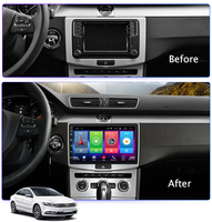 Full Touch Screen Car Android 8.1 Radio Player For passat CC 7 B7 10 15 DSP GPS Navigation Video Multimedia Built in Bluetooth