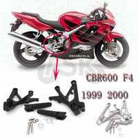 Front Footrest Foot Pegs For Honda CBR600 CBR 600 F4 1999 2000 Parts Foot peg New