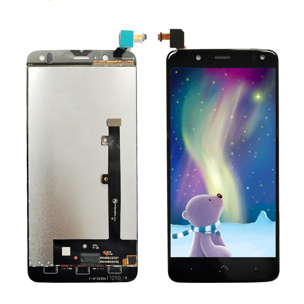 US $37 35 17% OFF For BQ Aquaris V LCD Display Digitizer Touch Screen Panel  Glass Parts For BQ Aquaris V LCD Black White-in Mobile Phone LCD Screens
