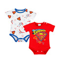 Cartoon Superhero Baby Boys Girls Bodysuits Set Cotton Body Clothing For Babies Cosplay Jumpsuits Short Sleeve Costume Autumn