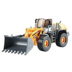 1:50 18 см сплав Тракторная Лопата грузовик модель KDW моделирование погрузчик дети игрушечные лошадки Рождественский подарок