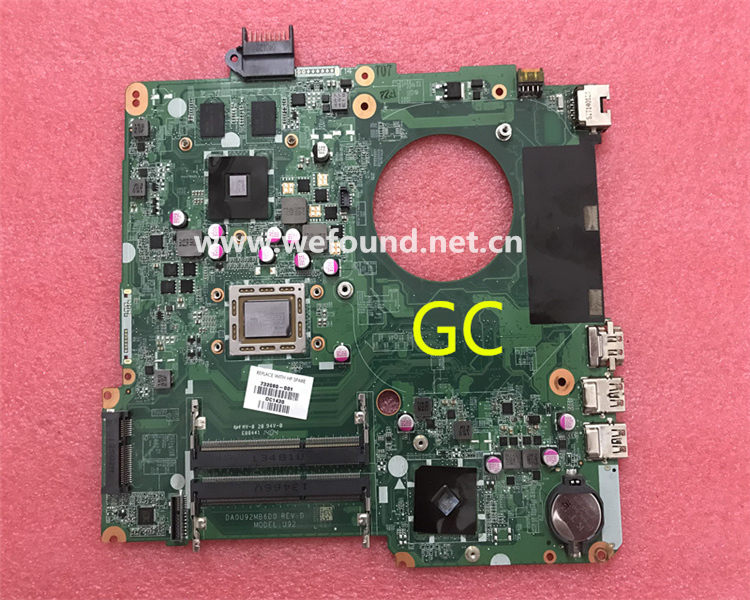 laptop Motherboard For 15-N DA0U92MB6D0 732080-001 732080-501 system mainboard Fully Tested