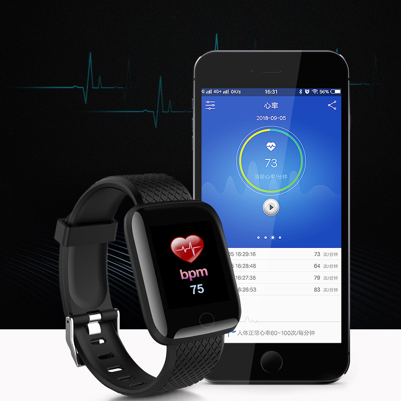 2019 Blood Pressure Smartwatch Women Fitness For Android
