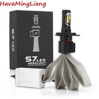 Super Bright Car Headlights LED H7 H4 H3 H8/H9/H11 9005 9006 H1 880 car-styling Bulb Auto Front Bulb Automobiles Headlamps 6000K