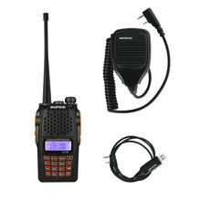 Baofeng pofeng UV-6R Walkie Talkie Radio Comunicador Ptt Two Way Radio 1X Speaker Mic 1X Programming Cable