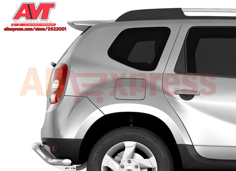 Spoiler aero sport dynamic for Renault Duster / Terrano 2012- version 2 styling car accessories molding decoration