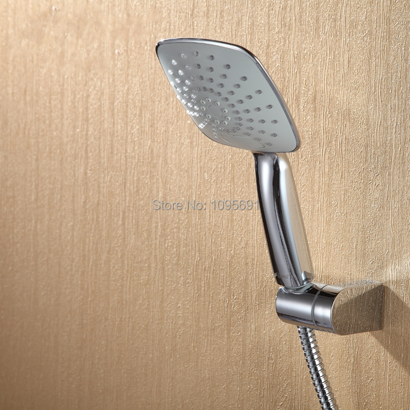 Large area two functions Handheld ABS shower head with ABS shower ...