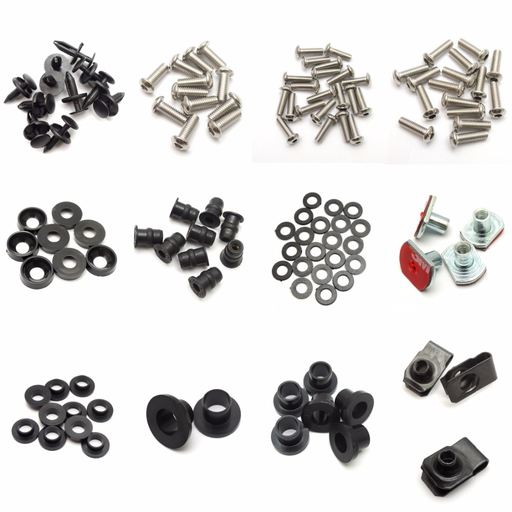 Complete Fairing Bolt nut screw Kit For HONDA CBR600RR CBR 600 RR 2003-2006 2003 2004 2005 2006 fairing bolt screw Accessories (1)