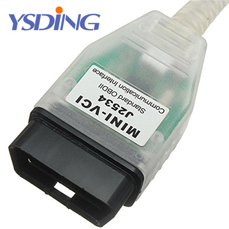 Latest version V12.10.019 MINI VCI Interface FOR TOYOTA TIS Techstream minivci FT232RL Chip J2534 OBDII OBD2 diagnostic tool
