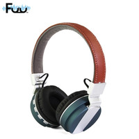 Head Mounted Bluetooth Headset New Metal Foldable Wireless Stereo Bluetooth Headset Card Reader Headphone 4 Colors