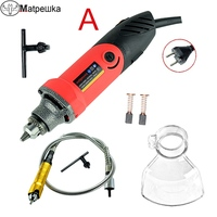 480W Mini Drill Electric Engraver Dremel Style Power Tools Die Grinder With Flexible Shaft Abrasive Tool