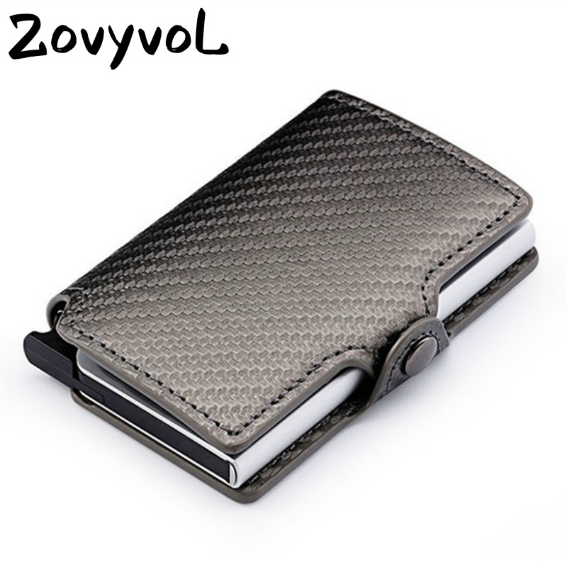 ZOVYVOL New RFID Card Holder pu leather passport holder card purse credit covers men women pocket for