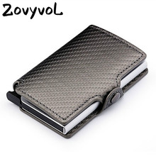 ZOVYVOL New RFID Card Holder pu leather passport holder card holder purse credit card covers men women pocket for credit card new pu leather passport cover holder women men travel credit card holder travel id card document passport holder