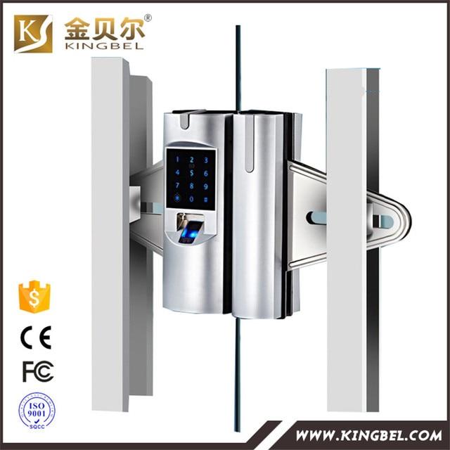 Biometric Fingerprint Glass Cabinet Door Lock Digital Lock In Locks