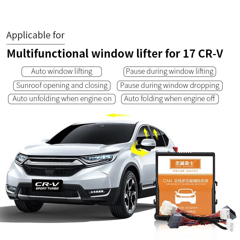 Voiture Auto fenêtre fermer pliant miroir vitesse serrure toit ouvrant fermer pour Honda CRV-5 2017/10th civic 2016-2017/10th accord 2018