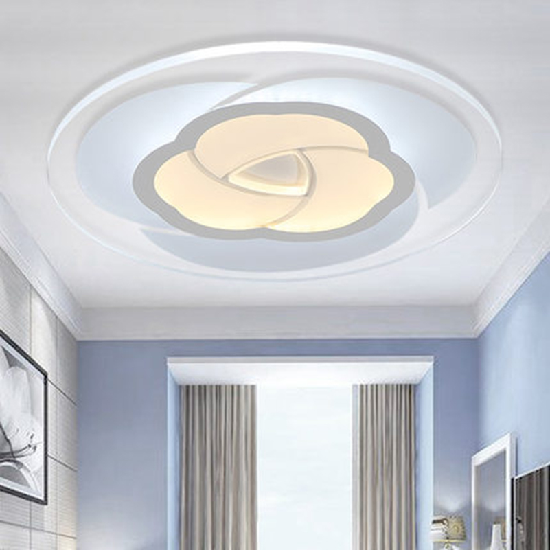 Alibaba Modern Ceiling Lights : Led acrylic ceiling light ultra thin flower shaped