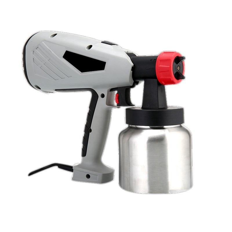 800W pulvérisateur de peinture électrique 400 W, 100W haute tension pistolet électrique buse pulvérisateur réglable machine de contrôle de débit outils électriques