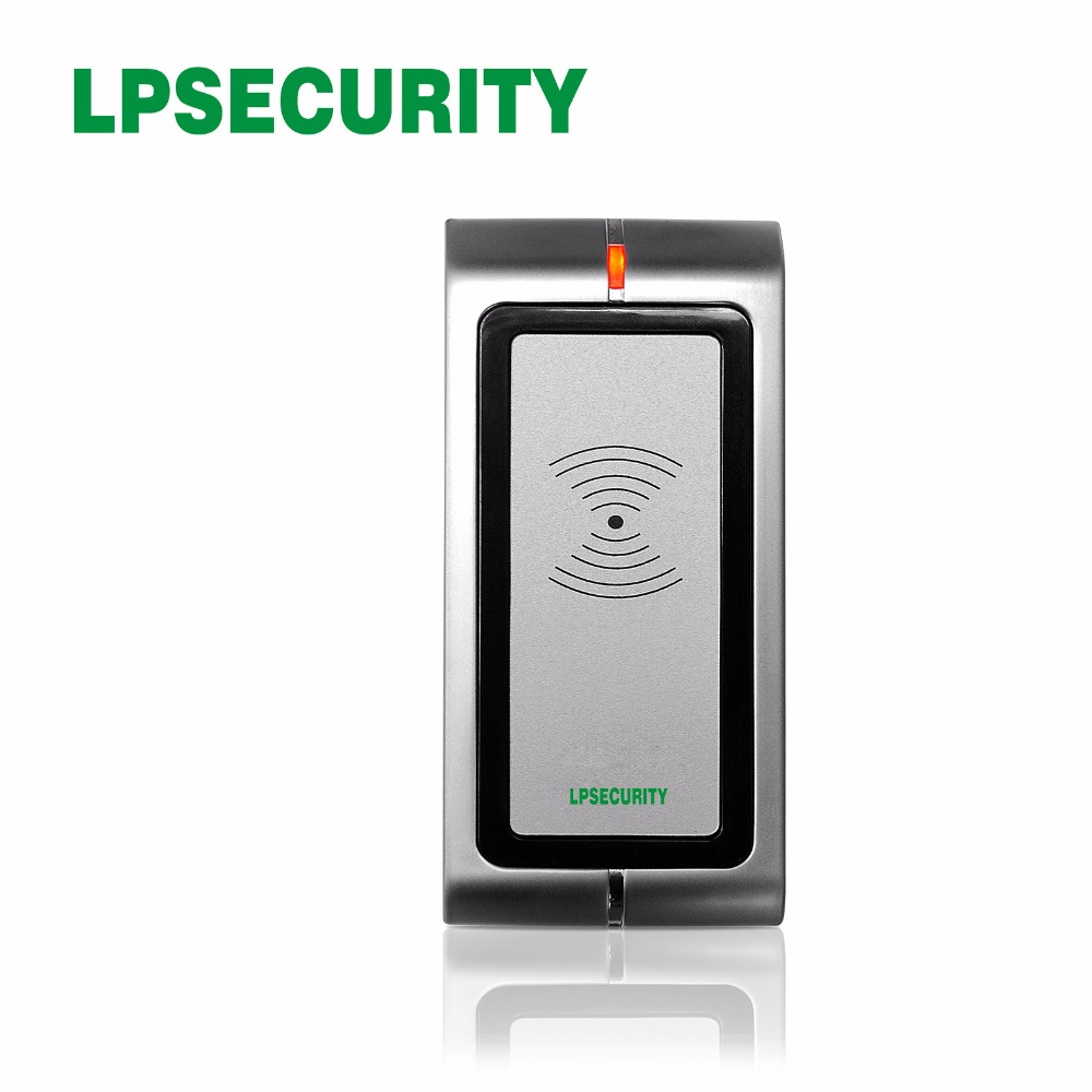 Dedicated Ultra-low Power Wiegand 26-37bit R4-h&em Metal Waterproof Card Reader Tamper Alerm Can Uses For Bank/ Prison Modern Design Access Control Kits Access Control