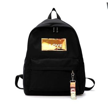 Fashion Backpack Women Holographic Leisure Back Pack Lady Knapsack Casual Travel Bag Backpack for School Teenage Girls Bagpack