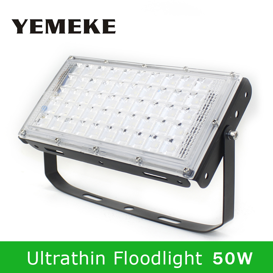 4500lm Reflector Led Flood Light Led Outdoor 50W 220V Led Floodlights Waterproof Garden Wall Lamp SMD5730 Warm White/White