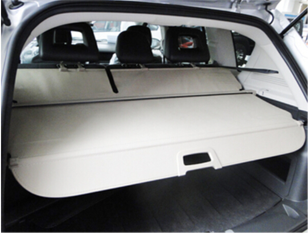 Rear trunk security shade cargo cover Beige color For Jeep Compass 2015 2014 2013 2012 2011 car rear trunk security shield cargo cover for honda fit jazz 2014 2015 2016 2017 high qualit black beige auto accessories