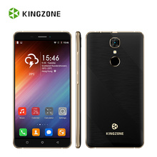 Kingzone S20 3G Unlocked Smartphone 5.5 Inch Android 6.0 MTK6580 Quad Core 1+16G 1280*720 HD IPS Fingerprint Mobile Cell Phone