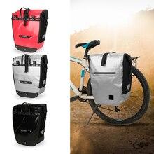 цена Lixada 20L Roller Bike Pannier Cycling Bicycle Rear Pack Bag Waterproof MTB Bike Seat Trunk Bag Cycling Equipment онлайн в 2017 году