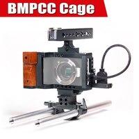 Blackmagic bmpcc Кейдж DSLR Камера Rig с верхней ручкой рукоятка видео Системы для черная магия карманная Камера p0016911
