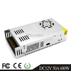 360W 480W 600W DC12V 50A 25A 12.5A 24V 36V 48V 60V LED Driver Switching Power Supply SMPS 110/220VAC Transformer Monitoring CCTV(China)