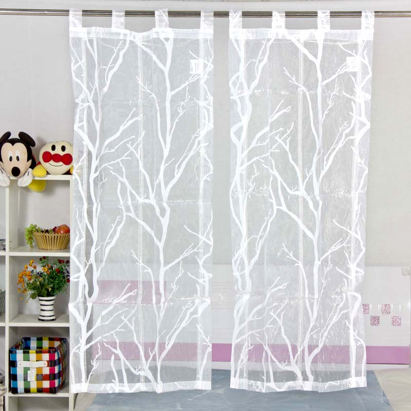 Kitchen Restaurant Curtain Decoration Curtain White Jacquard Decorative  Half Curtain Short Country Style Door Curtains