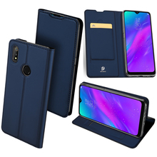 Original Dux Ducis Leather Case For Realme 3 Coque Realmi Pro Luxury Thin Flip Wallet Cover Oppo 3/ Cases