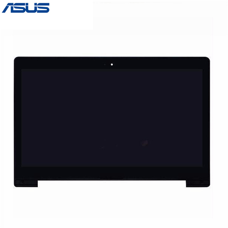Asus S400 LCD Display Touch Screen Assembly with Frame Repair Part For Asus VivoBook S400 S400C S400CA LCD screen new digitizer touch screen sensor glass for asus vivobook s400 s400ca w frame 5343r 5343ra fpc 1 fpc 2 ja da5343ra free ship