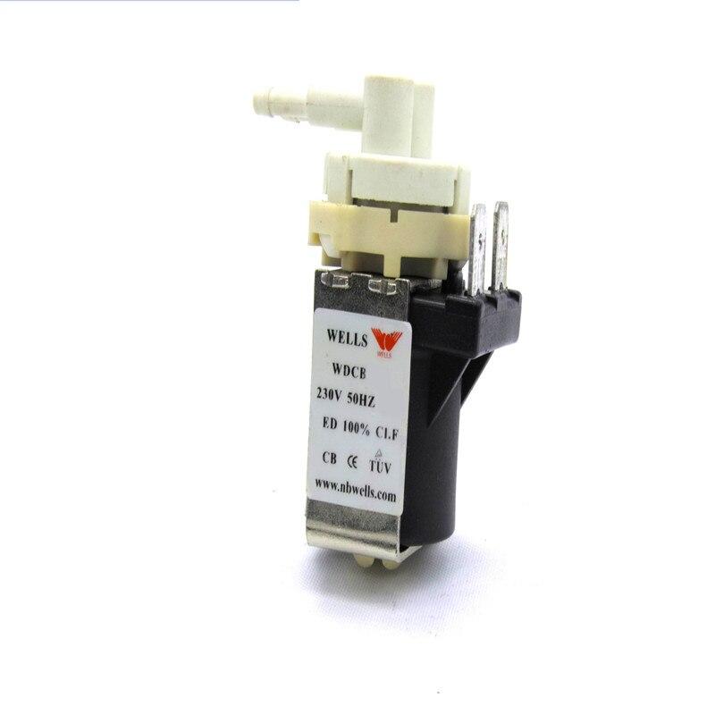 Petit appareil ménager de vapeur de jet de pompe magnétique en plastique micro de petit débit pour la tension/fréquence AC100-120 v/60 hz puissance 9 w