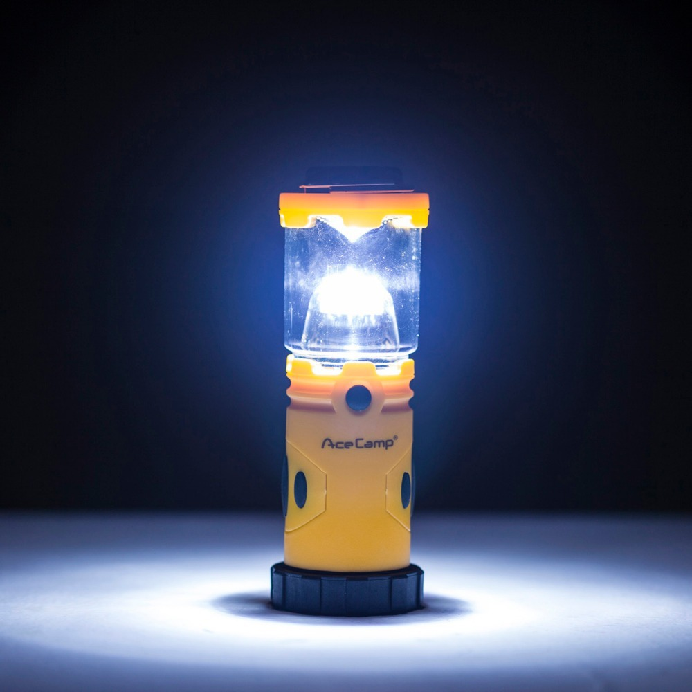 Многофункциональный 9 светодиодный 30lm Кемпинг Фонари светло-оранжевый с черный (4 x AA, в комплект не входит) фонарик Палатка лампа открытый