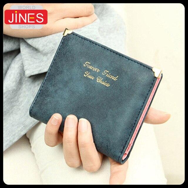 4318a9f50 Nuevas mujeres de moda esmerilado versión corta múltiples paquete de la  tarjeta matorrales cartera para mujer