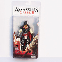 neca assassin creed ii אציו מאסטר assassin pvc פעולה איור דגם צעצוע בובות מתנה גדולה 7